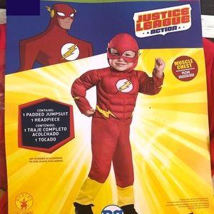 ❤️💛 The Flash Kid Costume 💛❤️